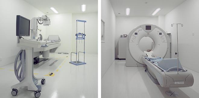 エコー室 CT・レントゲン室 内視鏡室
